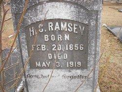 H C Ramsey