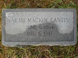 Sarah <i>Mackin</i> Cantini