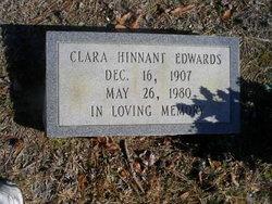 Clara <i>Hinnant</i> Edwards