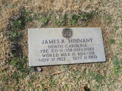 James R Hinnant