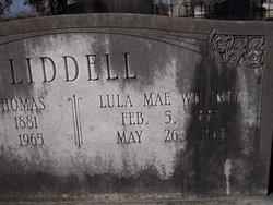Lula Mae <i>Whitney</i> Liddell