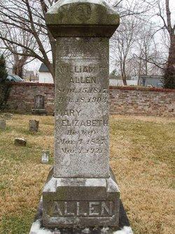 Mary Elizabeth <i>Bayley</i> Allen