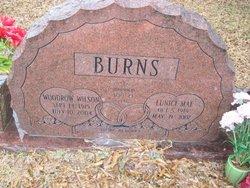 Woodrow Wilson Burns