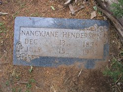 Nancy Jane <i>Summers</i> Henderson