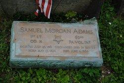 Lieut Samuel Morgan Adams