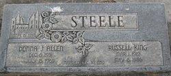 Donna Jean <i>Allen</i> Steele