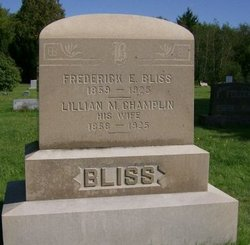 Lillian M. <i>Champlin</i> Bliss