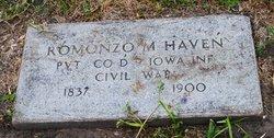 Pvt Romonzo M. Havens