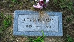 Alta Margaret <i>Squires</i> Phillips