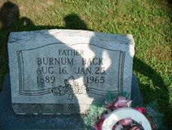 George Burnum Back