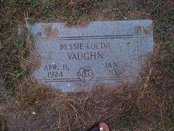 Bessie Loeda <i>Harrison</i> Vaughn