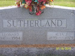 Roy Leonard Sutherland