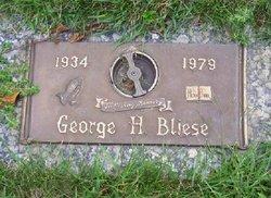 George Herman <i>Hugo</i> Bliese
