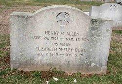 Elizabeth <i>Seeley-Dowd</i> Allen