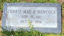 Corrie Mae <i>H.</i> Hancock