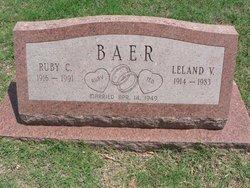 Leland Victor Ted Baer