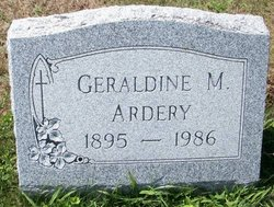 Geraldine Margaret <i>Silvis</i> Ardery