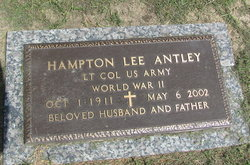 Hampton Lee Hamp Antley