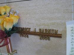 Fredrick J Barnum