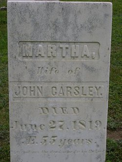 Martha <i>Crockett</i> Carsley