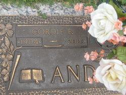 Cordie B. Anderson