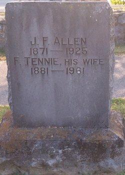 F Tennie Allen
