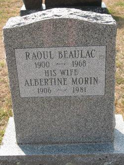 Albertine <i>Morin</i> Beaulac