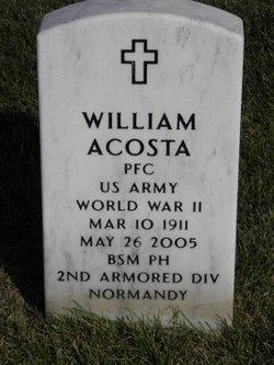 PFC William Acosta