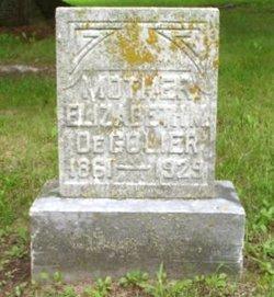Elizabeth M <i>Bender</i> Degolier