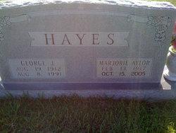 Marjorie Margie <i>Aylor</i> Hayes