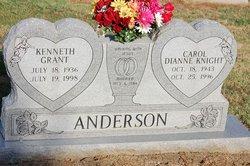 Carol Dianne <i>Knight</i> Anderson