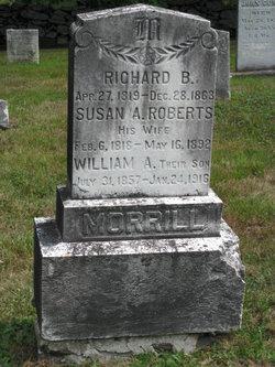 Mrs Susan A. <i>Roberts</i> Morrill