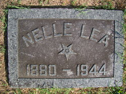 Rose Ellen Nelle <i>Mefford</i> Lea
