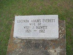Lucinda Adams <i>Everett</i> Blewett