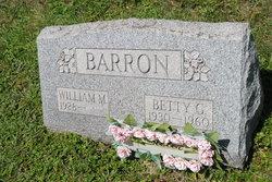 Betty G <i>Pierce</i> Barron