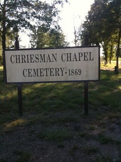 Chriesman Chapel Cemetery