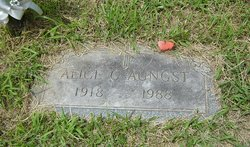 Alice G. <i>Weyant</i> Aungst