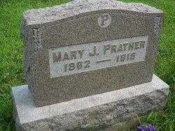 Mary J. <i>Etter</i> Prather