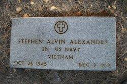 Stephen Alvin Alexander