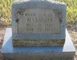 Willie Claudie <i>Crossland</i> Alexander