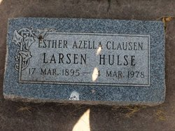 Esther Azella <i>Clausen</i> Hulse