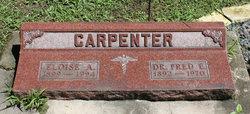 Dr Fred Elton Carpenter, Sr