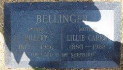 Lillie <i>Spicer</i> Bellinger