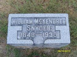 William McKendree Snyder