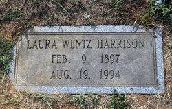 Laura A. <i>Wentz</i> Harrison