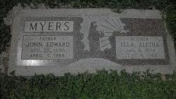 Ella Aletha <i>Creel</i> Myers
