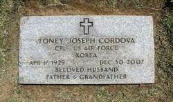 Anthony Joseph Toney Cordova, Sr