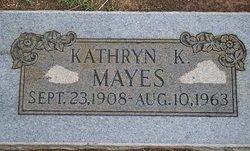 Kathryn K. <i>Cornelsen</i> Mayes