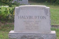 Alexander Vance Halyburton