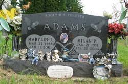 Marylin Ione <i>Lyons</i> Adams